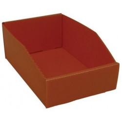 Plastový box PP, 10,5 x 18 x 28 cm, oranžový