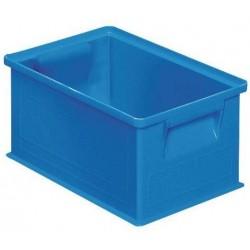 Barevná plastová přepravka PS (8,7 l), modrá