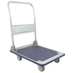 Plošinový vozík se sklopným madlem Manutan, do 200 kg