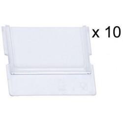 Dělící příčné přepážky, pro šířku boxů 17 cm