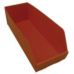 Plastový box PP, 15,5 x 19 x 40 cm, oranžový