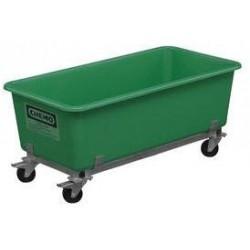 Velkoobjemový plastový kontejner s kolečky, 550 l