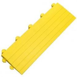 Nájezdová hrana k průmyslovým rohožím, s kolíky, žlutá