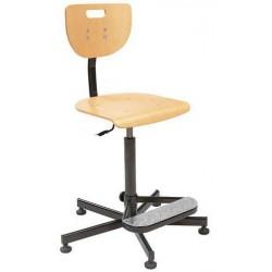 Pracovní židle Werek s kluzáky
