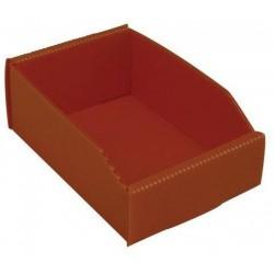 Plastový box PP, 6,5 x 12 x 18 cm, oranžový
