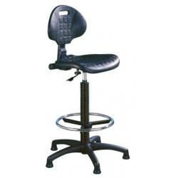 Zvýšená pracovní židle Nelson PK s kluzáky