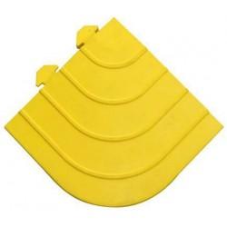 Nájezdový roh k průmyslovým rohožím, žlutý