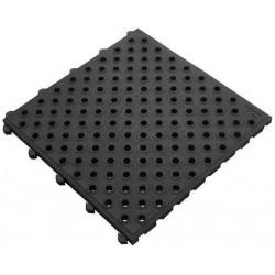 Protiúnovavová průmyslová rohož, děrovaná, dlaždice 50 x 50 cm