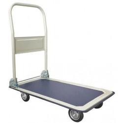 Plošinový vozík se sklopným madlem Manutan, do 150 kg