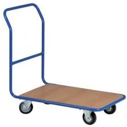 Plošinový vozík s madlem, do 300 kg