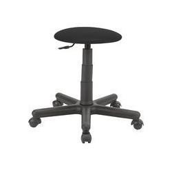 Pracovní stolička s kolečky. Barva sedáku černá