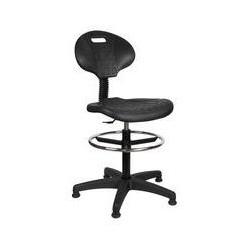 Zvýšená pracovní židle s kluzáky