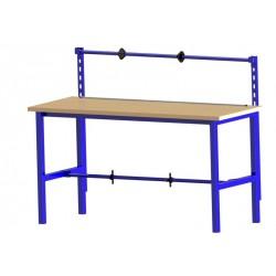 Balicí stůl bez polic s výškově nastavitelnými nohami